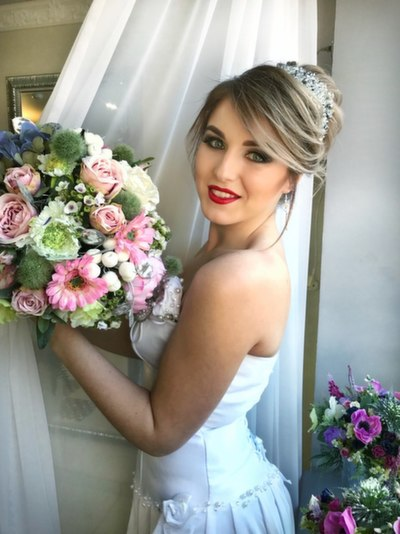 Свадебный образ в салоне красоты